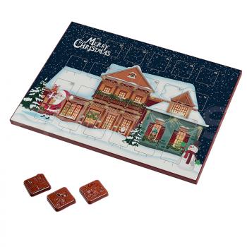 Adventes kalendārs MINI, 24 šokolādītes, 50g