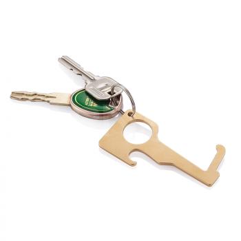 Atslēgu piekars BRASS HYGIENIC ZERO CONTACT