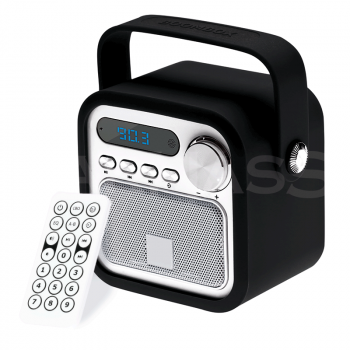 Bluetooth skaļrunis un FM radio RETRO