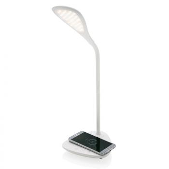 Galda lampa ar 5W bezvadu lādētāju