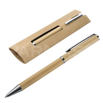 Koka pildspalva HEY WOOD kartona maciņā