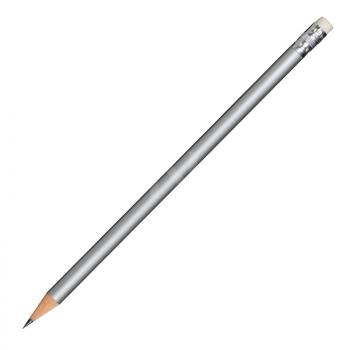 Koka zīmulis METALLIC ar dzēšgumiju