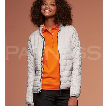 Kombinētu audumu jaka