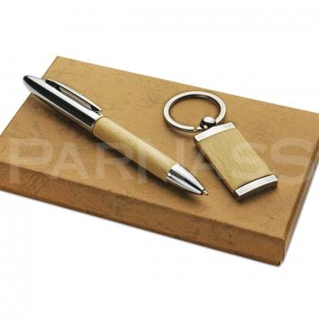 Komplekts WOOD, pildspalva, piekars