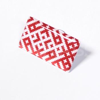 Metāla nozīmītes ar polimēru pārklājumu