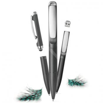 Pildspalva – ekrānzīmulis ar zibatmiņu STYLO 3 IN 1 PEN