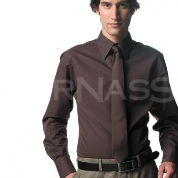 Pletkrekls LONG SLEEVE TENCEL® Fitted Shirt