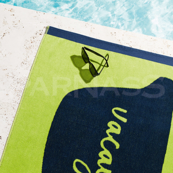 Velūra pludmales dvieļi MESSAGE, 3 dizaini