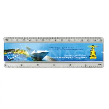 Reklāmas lineāls INSERT RULER 15 cm