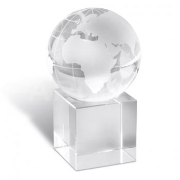 Stikla globuss - papīra prese