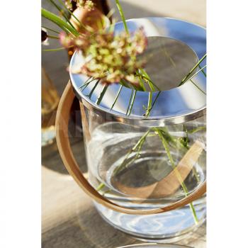 Stikla trauks – vāze NATURE