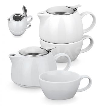 Tējas kanna un krūze COLE TEA SET