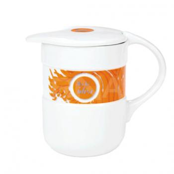 Tējas krūze ar vāciņu COMPACT
