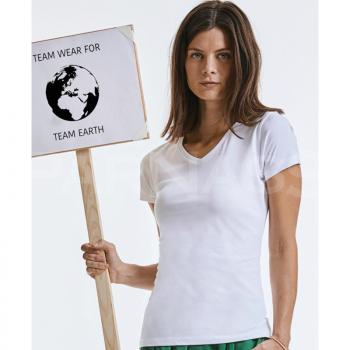 T-krekls, tops PURE ORGANIC V-NECK