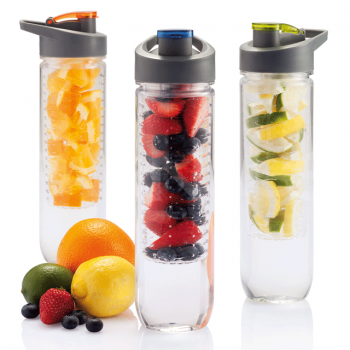 Ūdens pudele ar augļu/ledus sietiņu