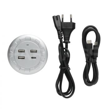 USB lādētājs – sadalītājs VOGUE