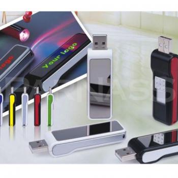 USB zibatmiņa ar izgaismotu logo