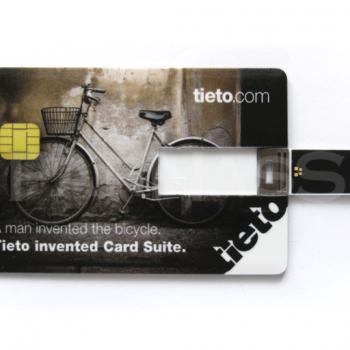 USB zibatmiņa CREDIT CARD