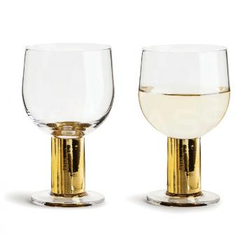 Vīna glāzes CLUB GOLD