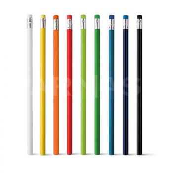 Zīmulis ar dzēšgumiju saskaņotā krāsā